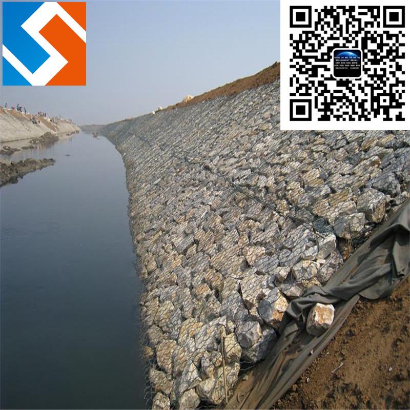 长江黄石段雷诺护垫护堤工程